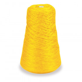4-Ply Double Weight Rug Yarn Refill Cone, Yellow, 8 oz., 315 Yards