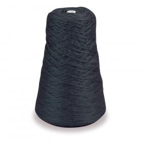 4-Ply Double Weight Rug Yarn Refill Cone, Black, 8 oz., 315 Yards