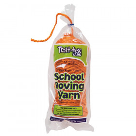 3-Ply School Roving Yarn Skein, Orange, 8 oz., 150 Yards