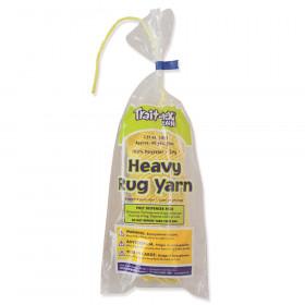 Heavy Rug Yarn, Yellow, 1.37 oz., 60 Yards