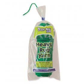 Heavy Rug Yarn, Holiday Green, 1.37 oz., 60 Yards