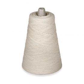 Natural Cotton Warp Yarn, White, 4-ply, 8 oz., 800 yds.