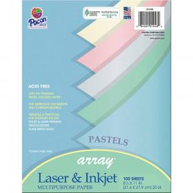 Array Multipurpose 100Sht Pastel Colors Paper