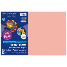 Tru Ray 12X18 Salmon Construction Paper 50Sht Per Pk
