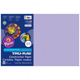 Tru Ray 12 X 18 Lilac 50 Sht Construction Paper