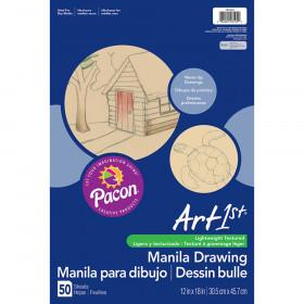 Cream Manila Drawing Paper 12 X 18 50Shts
