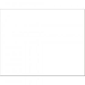 "4-Ply Railroad Board, White, 22"" x 28"", 25 Sheets"