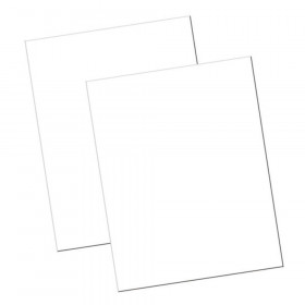 "Economy Poster Board, White, 22"" x 28"", 100 Sheets"