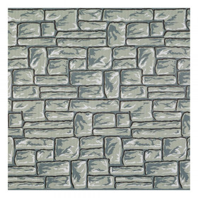 "Corrugated Paper, Flagstone, 48"" x 12-1/2', 1 Roll"
