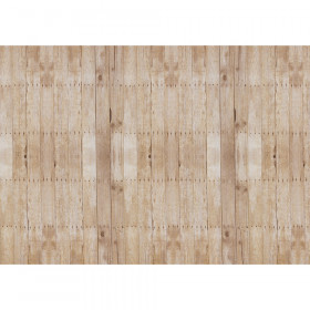 "Corrugated Paper, Weathered Wood, 48"" x 12-1/2', 1 Roll"