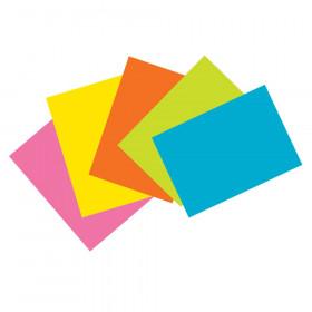 Super Bright Index Cards 4X6 Unrule