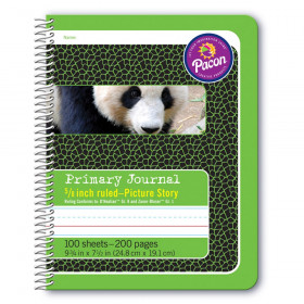 Primary Journal 5/8In Ruled Picture Story Spiral Bound