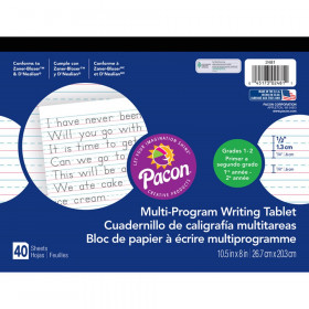 Dnealian Multi-Program Handwriting Ppr 1 10 1/2 X 8 1/2 L