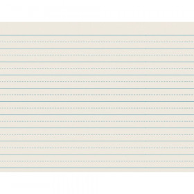 "Newsprint Handwriting Paper, Alternate Dotted, Grade 2, 3/4"" x 3/8"" Ruled Long, 11"" x 8-1/2"", 500 Sheets"