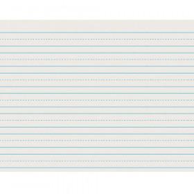 """Newsprint Handwriting Paper, Skip-A-Line, Grade 2, 3/4"""" x 3/8"""" x 3/8"""" Ruled Long, 11"""" x 8-1/2"""", 500 Sheets"""