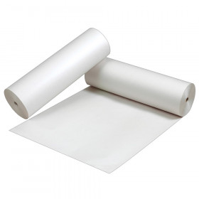 "Newsprint Paper Roll, White, 24"" x 1,000', 1 Roll"