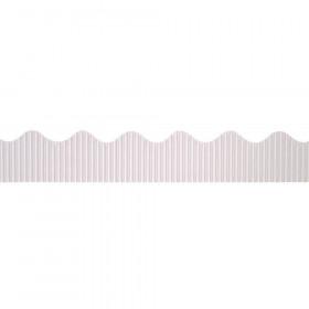 """Decorative Border, White, 2-1/4"""" x 50', 1 Roll"""