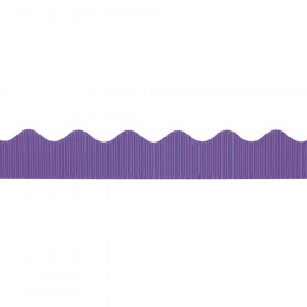 "Decorative Border, Deep Purple, 2-1/4"" x 50', 1 Roll"