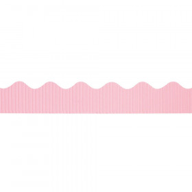 "Decorative Border, Pink, 2-1/4"" x 50', 1 Roll"