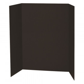 "Presentation Board, Black, Single Wall, 48"" x 36"", 1 Board"