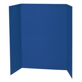 "Presentation Board, Blue, Single Wall, 48"" x 36"", 1 Board"