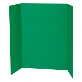 "Presentation Board, Green, Single Wall, 48"" x 36"", 1 Board"