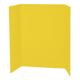 "Presentation Board, Yellow, Single Wall, 48"" x 36"", 1 Board"