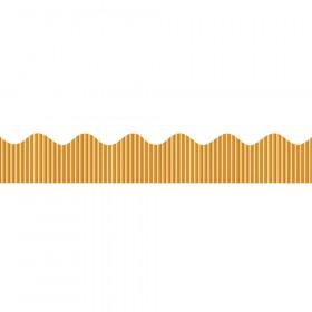 "Decorative Border, Metallic, Gold, 2-1/4"" x 25', 1 Roll"