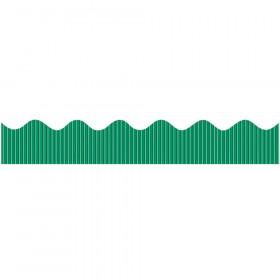 "Decorative Border, Metallic, Green, 2-1/4"" x 25', 1 Roll"
