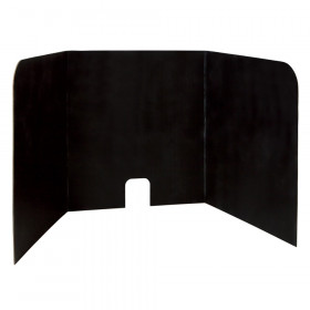 "Computer Lab Privacy Board, Black, 22""H x 22""W x 20""D, 4 Boards"
