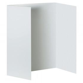 """Foam Presentation Board, White, 1/2"""" Faint Grid 48"""" x 36"""", 1 Board"""