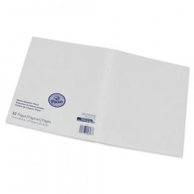 "Beginner Sketch Booklet, Plain, 11"" x 8-1/2"", 16 Sheets"
