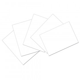 "Index Cards, White, Unruled, 4"" x 6"", 100 Cards"