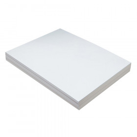 """Heavyweight Tagboard, White, 9"""" x 12"""", 100 Sheets"""