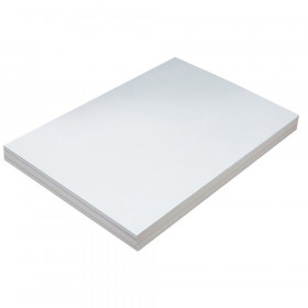 "Heavyweight Tagboard, White, 12"" x 18"", 100 Sheets"