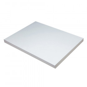 "Heavyweight Tagboard, White, 18"" x 24"", 100 Sheets"