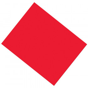 "Coated Poster Board, Red, 22"" x 28"", 25 Sheets"