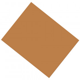 """Coated Poster Board, Brown, 22"""" x 28"""", 25 Sheets"""