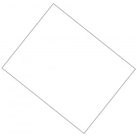 "Coated Poster Board, White 14 pt., 22"" x 28"", 25 Sheets"