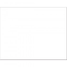 "4-Ply Railroad Board, White, 22"" x 28"", 100 Sheets"