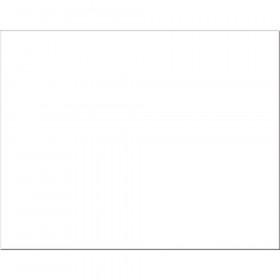 "6-Ply Railroad Board, White, 22"" x 28"", 25 Sheets"