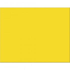 """6-Ply Railroad Board, Lemon Yellow, 22"""" x 28"""", 25 Sheets"""