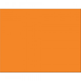 "4-Ply Railroad Board, Orange, 22"" x 28"", 25 Sheets"