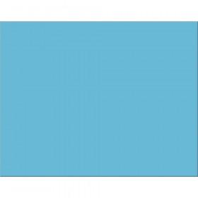 "4-Ply Railroad Board, Light Blue, 22"" x 28"", 25 Sheets"