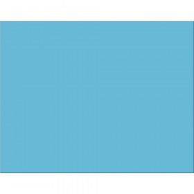 "6-Ply Railroad Board, Light Blue, 22"" x 28"", 25 Sheets"