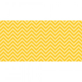 "Bulletin Board Art Paper, Chic Chevron-Yellow, 48"" x 50', 1 Roll"