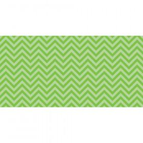 "Bulletin Board Art Paper, Chic Chevron-Lime, 48"" x 50', 1 Roll"
