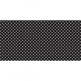 "Bulletin Board Art Paper, Classic Dots-Black & White, 48"" x 50', 1 Roll"