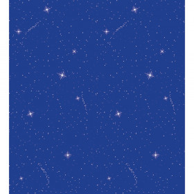 "Bulletin Board Art Paper, Night Sky, 48"" x 50', 1 Roll"