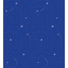 """Bulletin Board Art Paper, Night Sky, 48"""" x 12', 4 Rolls"""